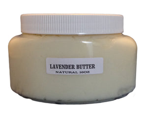 Natural Lavender Body Butter