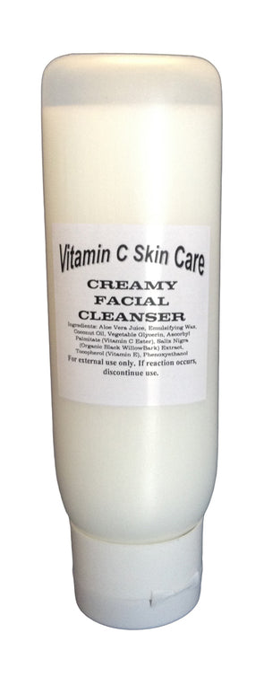 Vitamin C Creamy Facial Cleanser