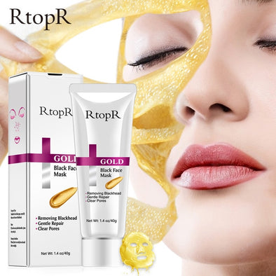 RtopR New Gold Remove Blackhead Mask Face Pore Peeling Acne Treatment
