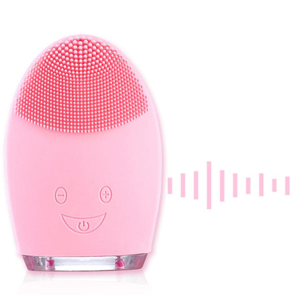 Face Cleaning Mini Electric Massage Brush