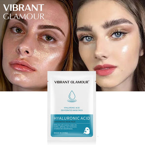 VIBRANT GLAMOUR Hyaluronic Acid Face Mask