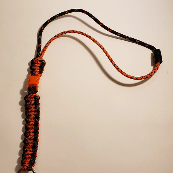 2 Color Lanyard (Bottom Half) - Insanely Paracord