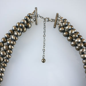 Three Stand Navajo Pearls