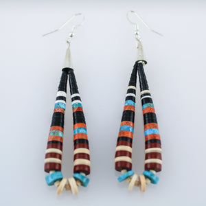 Santo Domingo Large Heishi Earrings