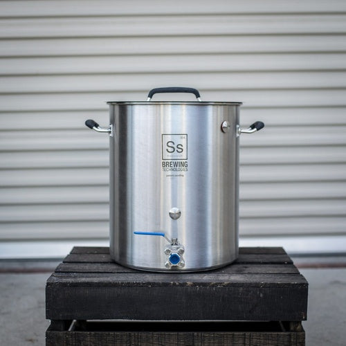 10 gal | Ss Brew Kettle Premium Grade Stainless Steel Brew Kettle
