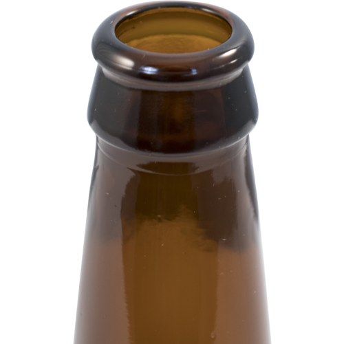 Beer Bottles - 12 oz Amber Long Neck - Case of 24