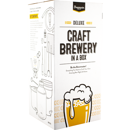 Brewmaster Deluxe Craft Brewery In A Box - Home brewing Equipment Kit