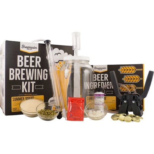 1 Gallon Homebrew Starter Kit & Summer Wheat Recipe