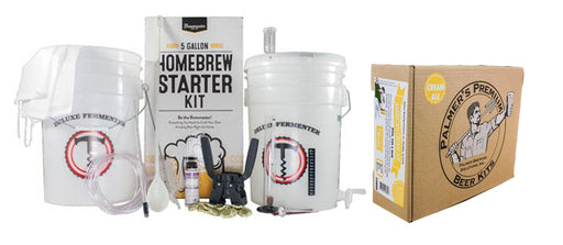 PRO Starter - 5 Gallon Beer Brewing Starter Kit With Premium Beer Ingredient Kit