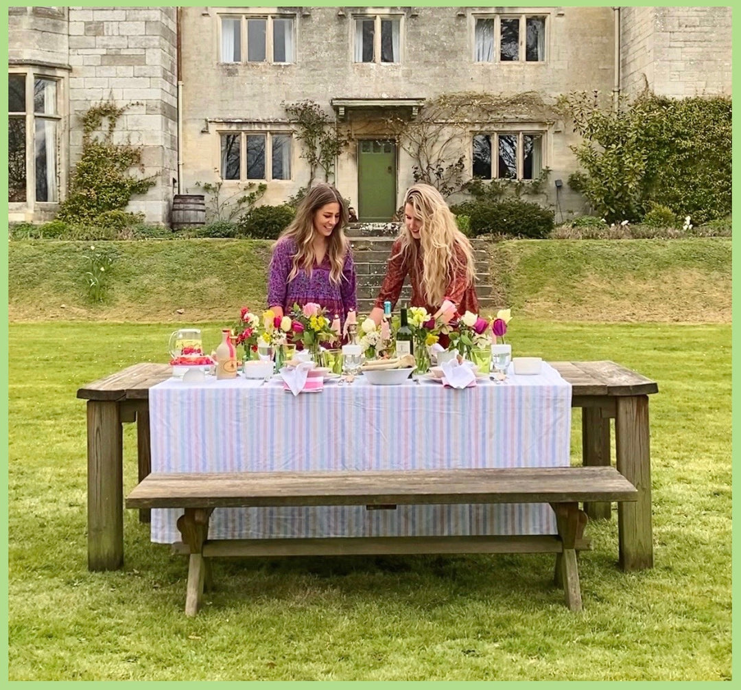 Foraging, alfresco and a bountiful Spring tablescape - 100 Acres X Elle Holl at Home