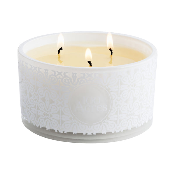Three-Wick Signature Scented Candle (400g)