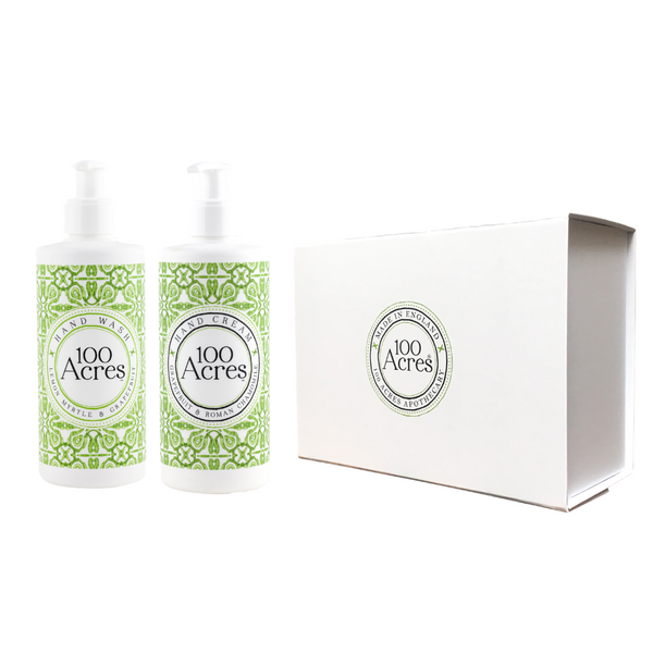 100 Acres Luxury, Natural Hand Gift Set