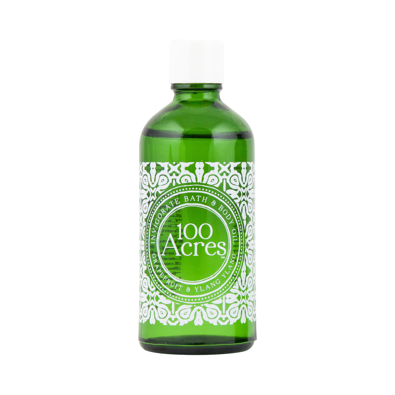 100 Acres Invigorate Bath & Body Oil 100ml - 100% Natural Ingredients & Essential Oils | 100 Acres Apothecary