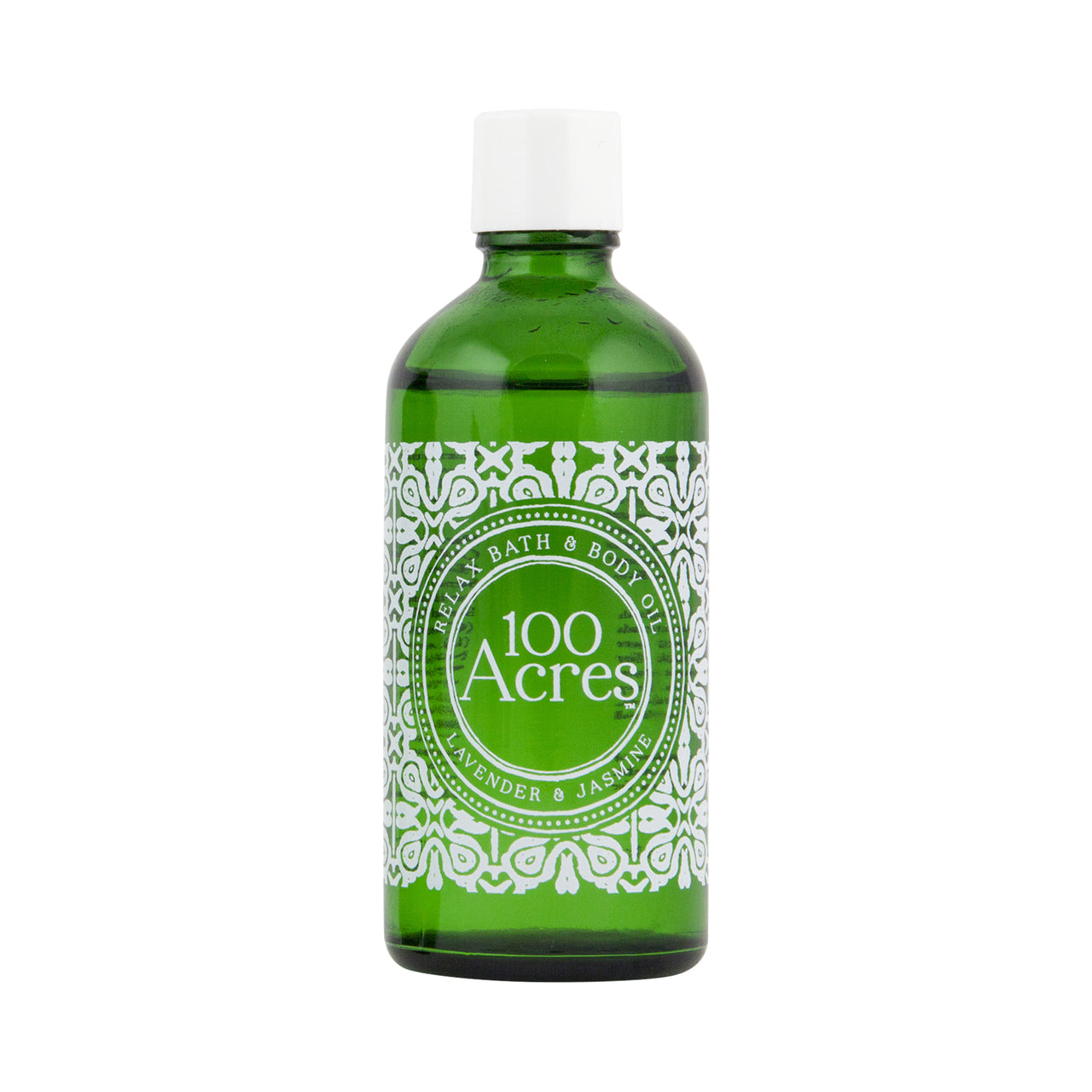 100 Acres Luxury, Natural Relax Bath & Body Oil