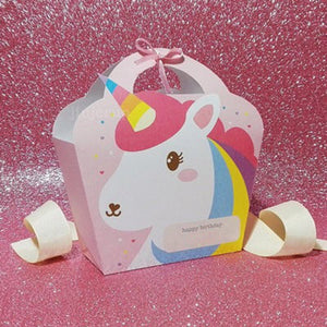 Unicorn Party Favor Bags - Unicorn Party Decorations, Birthday Party, Unicorn Baby Shower, First Birthday,Unicorn Treat Bag |Unicorn Party