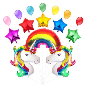 Unicorn Balloons Party Decoration Set | Rainbow Unicorn Party Theme | Unicorn Theme | Girls Birthday Party |Unicorn Foil Balloon | Unicorn