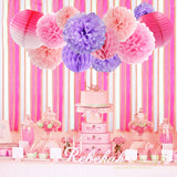 GIRLS BIRTHDAY Party Decoration-Pink Lavender Princess Party | Pink Purple Baby Shower | Hot Pink Birthday Party | Pink Cake Smash Back Drop