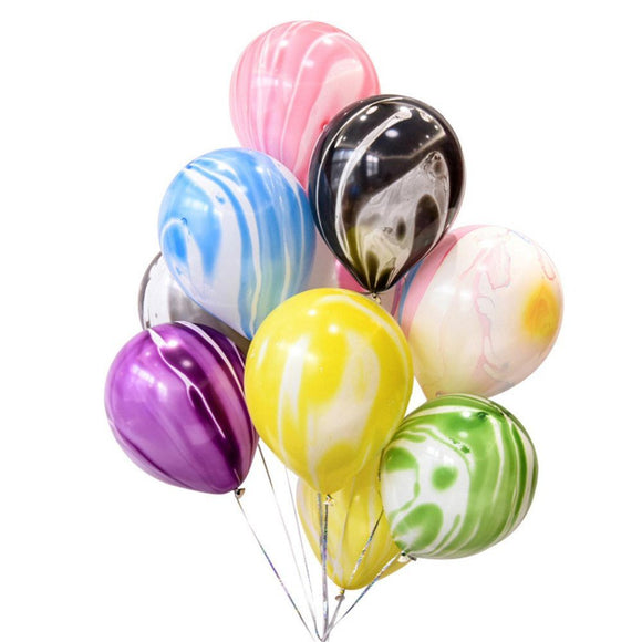 MARBLE BALLOONS-Agate Marble Balloons Bouquet, Rainbow Balloons, Unicorn Balloons, Baby Shower Balloon, Birthday Balloons, Wedding Balloons