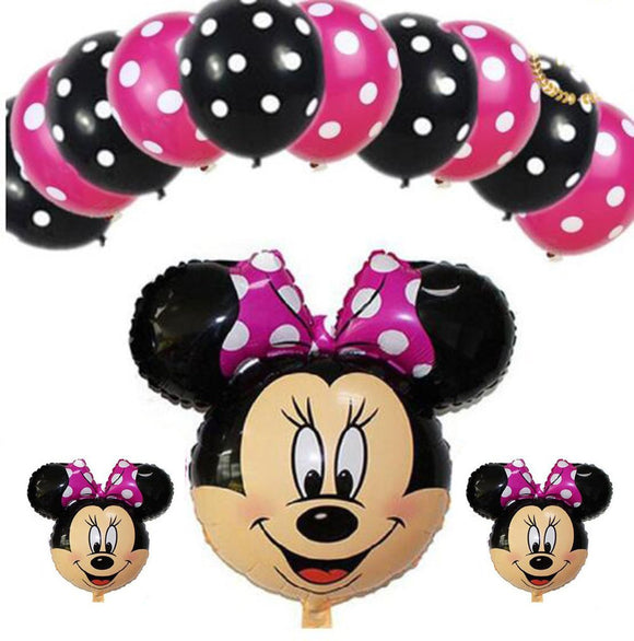 Minnie Balloon, Cartoon Foil balloon. Birthday Party Balloon |Minnie Mouse Balloon 30