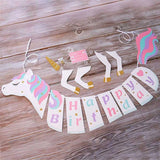 UNICORN BIRTHDAY BANNER- Unicorn Birthday Party, Unicorn Party Decoration, Unicorn Party Favors, Unicorn Balloons, Unicorn Party Supplies