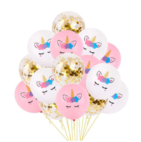 UNICORN BALLOONS Party Decorations- Unicorn Baby Shower, Unicorn Party Balloon, Girls Birthday Party, Unicorn Party Favors, Unicorn Birthday
