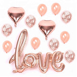 "40"" Gaint LOVE BALLOON-Wedding Balloon, Aniversary Balloon, Script Balloon, Valentines Balloon, Rose Gold Balloon, Rose Gold Party"