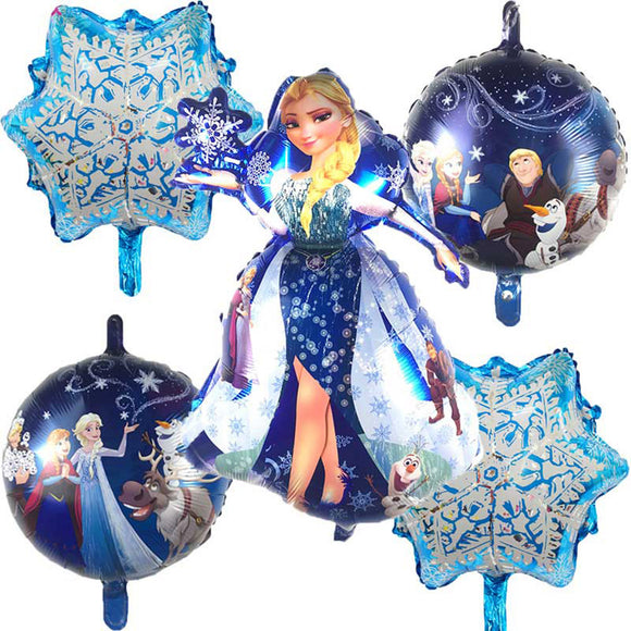 FROZEN Princess Party, Elsa Foil Balloon, Princess Foil Balloons, Princess Birthday Party Decor, Disney Princess Balloon, Girl's Birthday