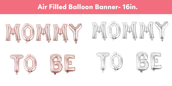 Baby Shower Foil Balloon- Mommy To Be Balloon Banner, Its A Boy Girl Gender Reveal Party, Babyshower Party Supplies, Baby Shower Balloons