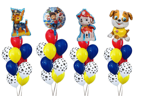 PAW PATROL Balloons, Paw Patrol Birthday Party Balloon, Chase Balloon, Marshall Balloon, Rubble Balloon, PAW Patrol Party Supplies