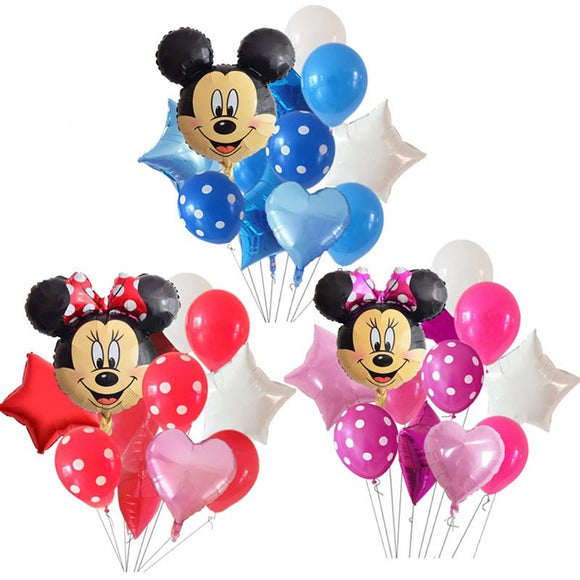 Minnie Balloon, Mickey Mouse Balloon, Minnie Mouse Birthday Party Balloon, Mickey Party, Minnie Mouse Theme Party, Minnie Mouse Party Supply