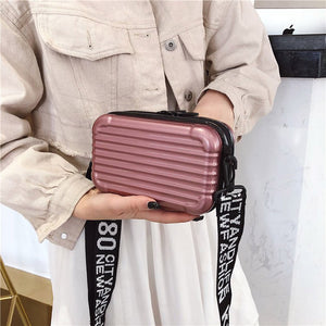 MINI SUITCASE SHAPE HANDBAG