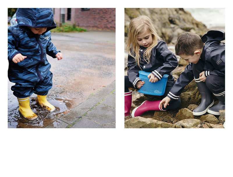 Aigle: One Pair Of Rain Boots For Many Generations. Looks Like a Fairytale?