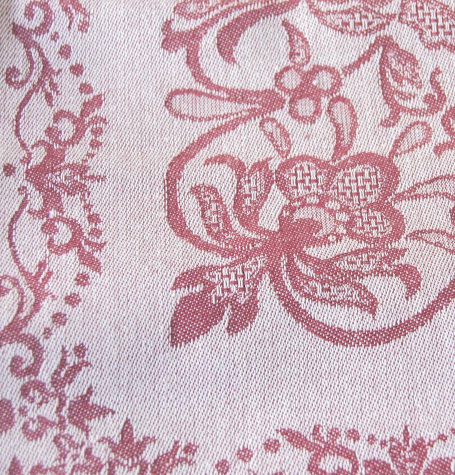 "Jacquard Napkins double-sided ""FOREVER & EVER...the weave made"""