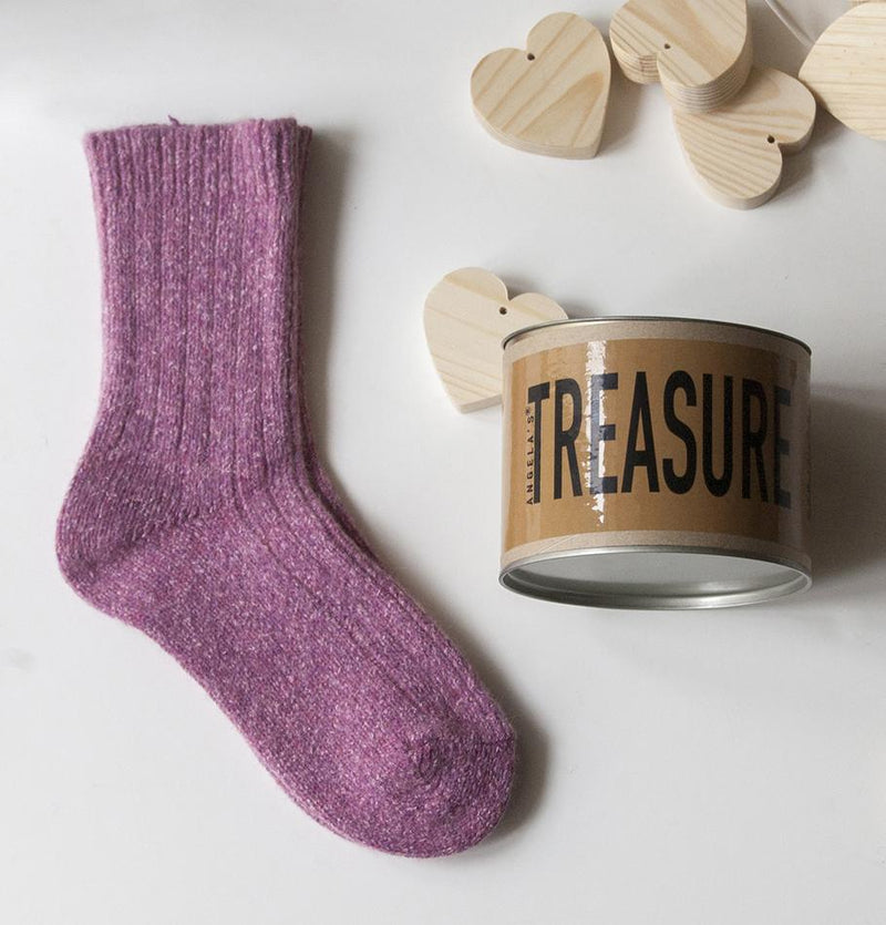 "Hygge socks ""WARM FEET - WARM HEART"" - Treasure Box"