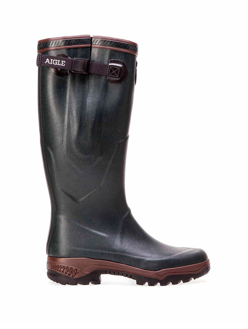 Aigle PARCOURS 2 Vario, Natural Rubber Boots, Wellington Unisex Adults Footwear, brown