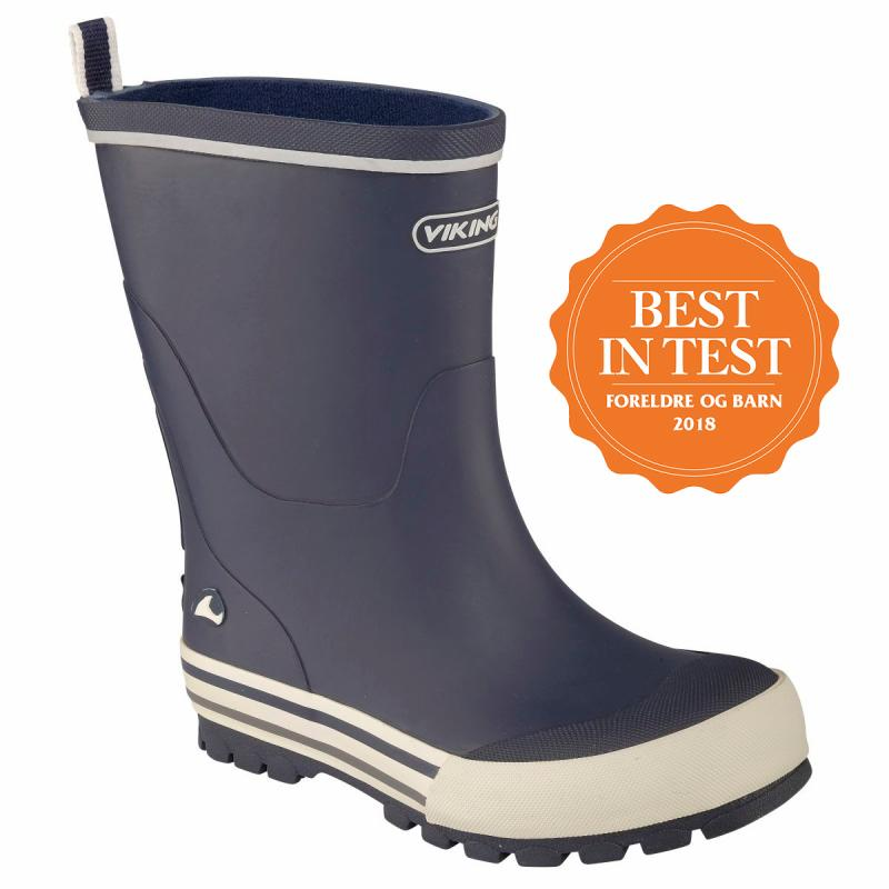 Viking Jolly, Soft Natural Rubber Boots, Wellington Children's Footwear
