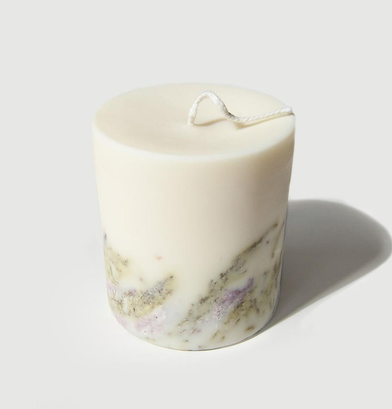 "Scented Soy Wax Candle, Heather, ""5 SENSES"", 515 ml - Treasure Box"