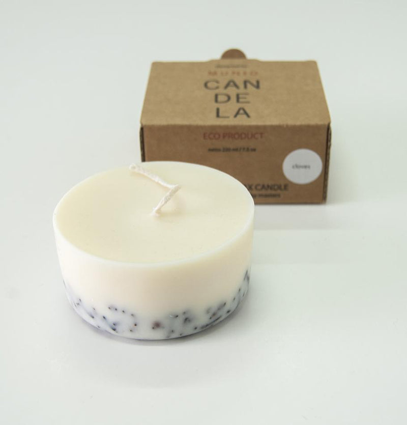 "Scented Soy Wax Candle, Cloves,  ""5 SENSES"", 220 ml - Treasure Box"
