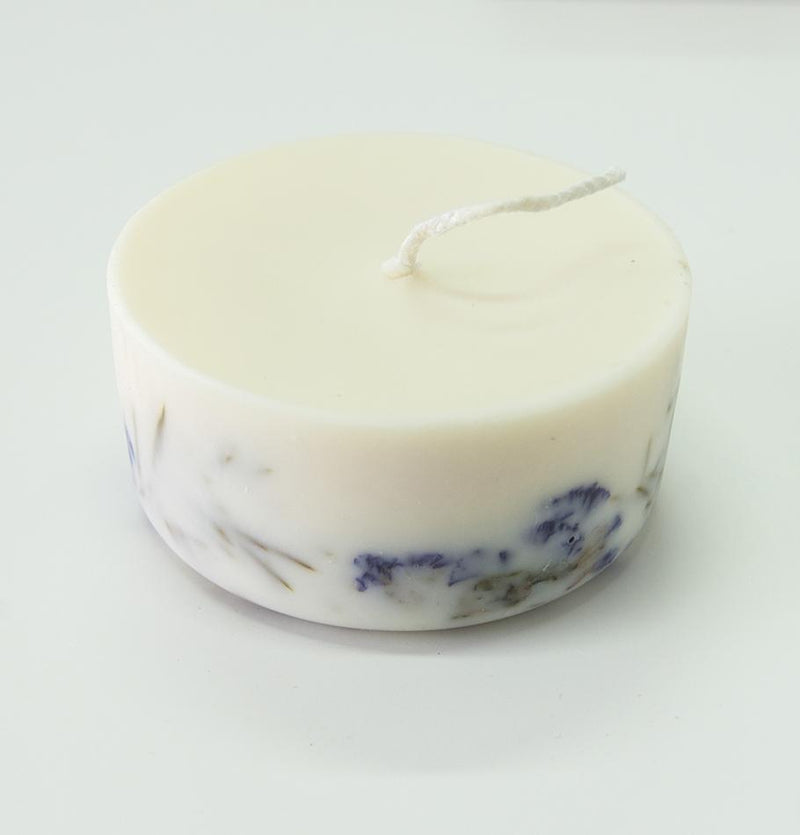 "Scented Soy Wax Candle, Juniper & Limonium,  ""5 SENSES"", 220 ml"