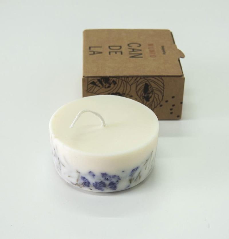 "Scented Soy Wax Candle, Juniper & Limonium,  ""5 SENSES"", 220 ml - Treasure Box"
