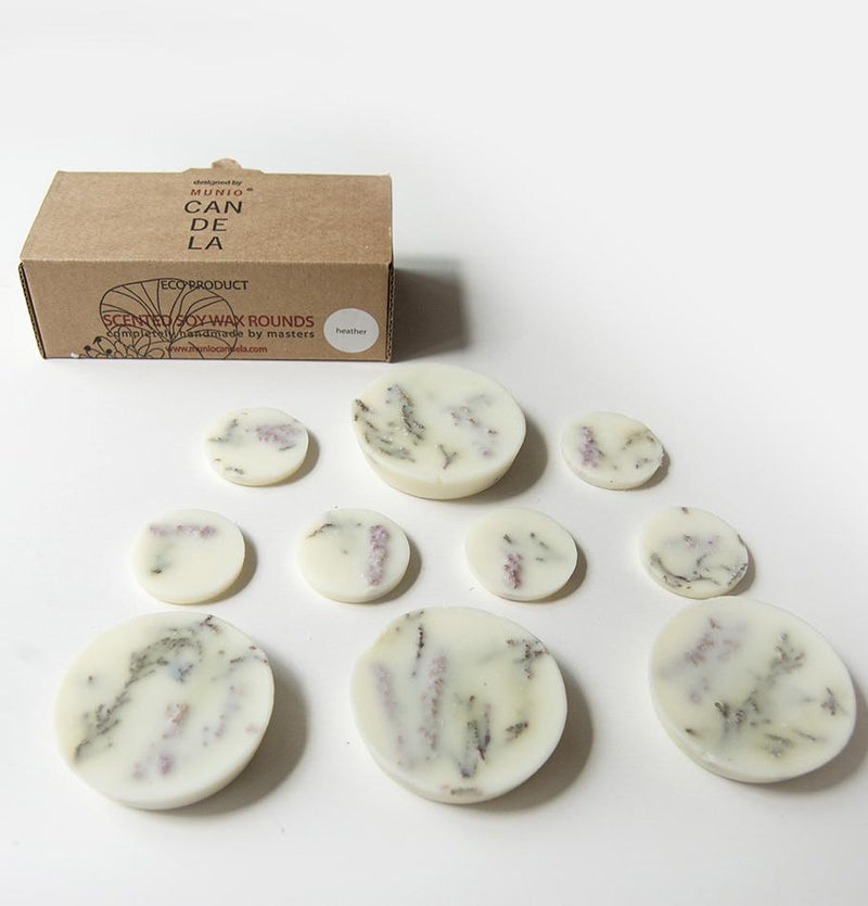 "Heather, Scented Soy Wax Rounds ""5 SENSES"", 120 ml"