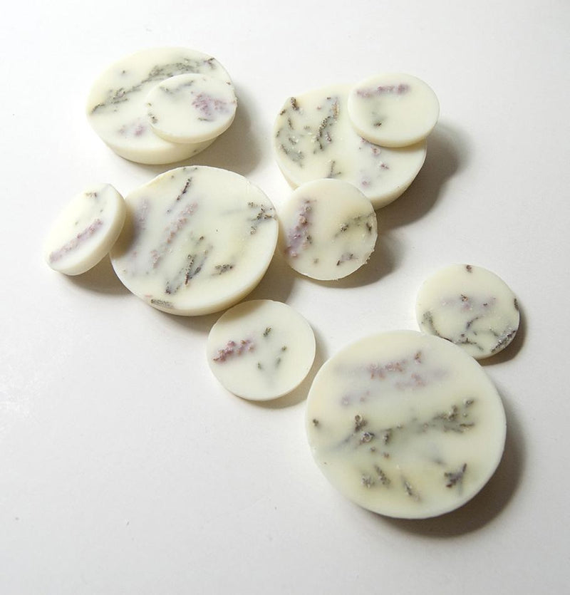Scented Soy Wax Rounds, Heather,