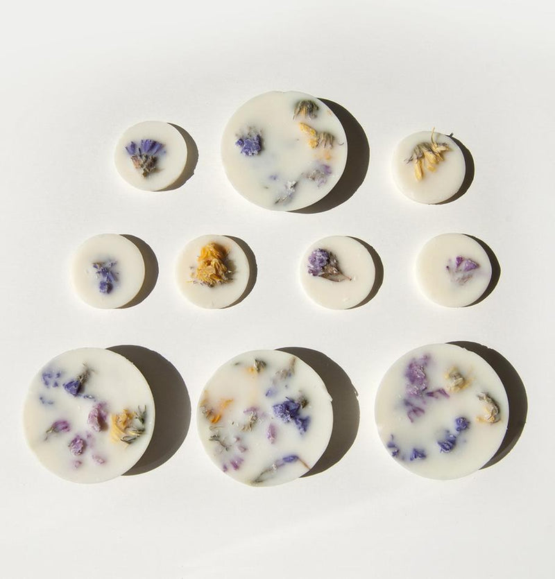 "Scented Soy Wax Rounds, Wild Flowers,  ""5 SENSES"", 120 ml - Treasure Box"