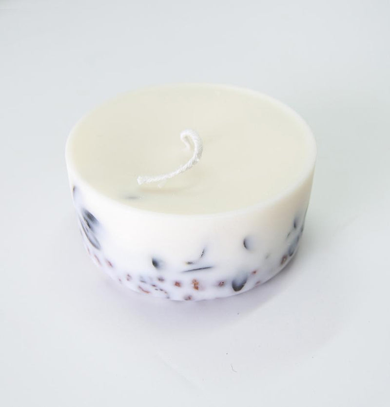 "Scented Soy Wax Candle, Ashberry & Bilberry Leaves,  ""5 SENSES"", 220 ml - Treasure Box"
