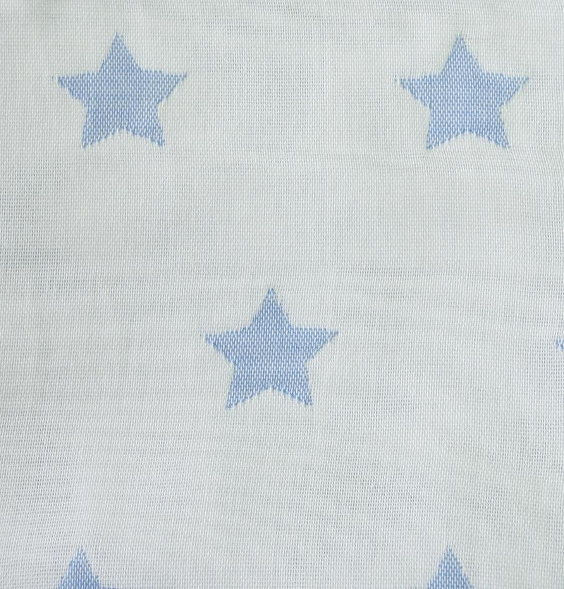 Jacquard Throw, 100% Cotton, double-sided, 140 x 200 cm 'HOW TO CATCH A STAR'