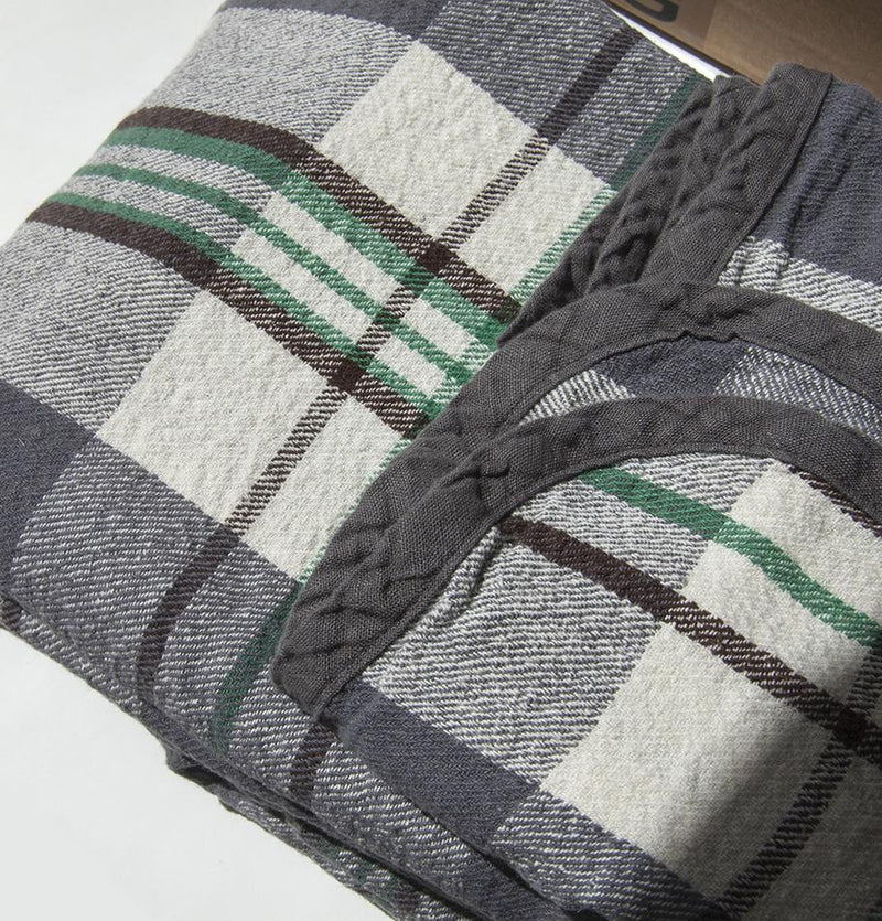 100% Washed Linen Blanket, 180 cm x 220 cm