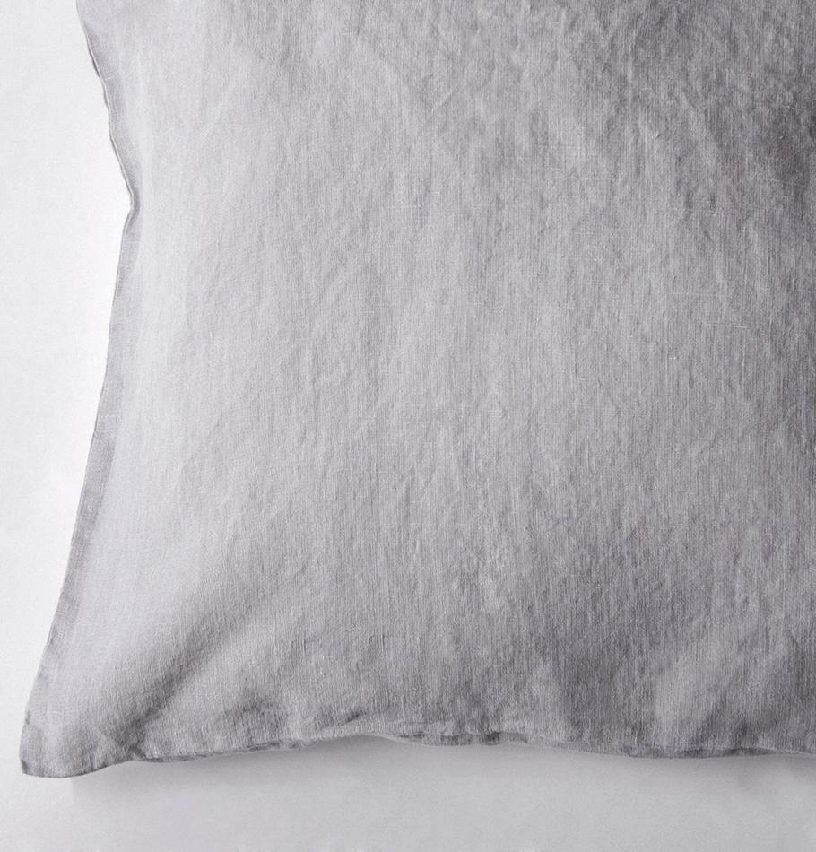 100% Softened Linen Pillowcases, 2 pc, 'ON THE MEADOW...', 50 cm x 70 cm, #1292 sunset cloud