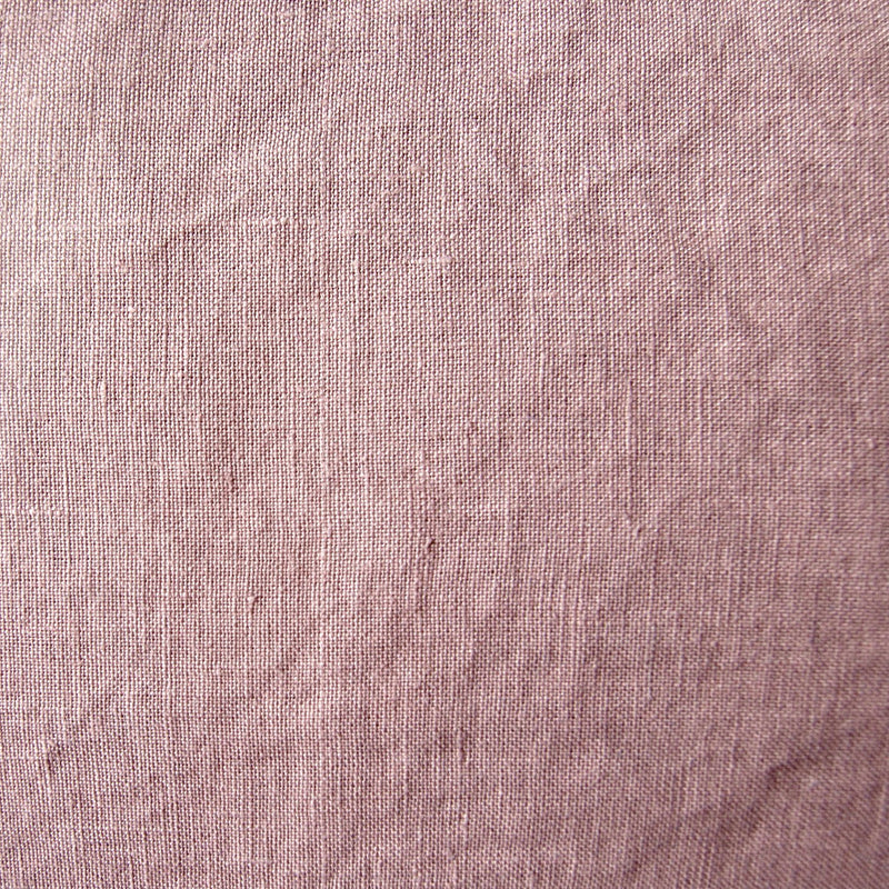 100% Softened Linen Pillowcases, 2 pc, 'ON THE MEADOW...', 70 cm x 70 cm, #1503 pink