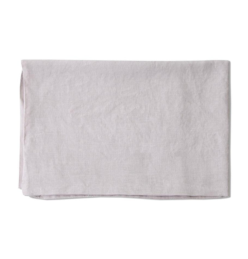 100% Softened Linen Pillowcases, 2 pc, 'ON THE MEADOW...', #320 misty rose - Treasure Box