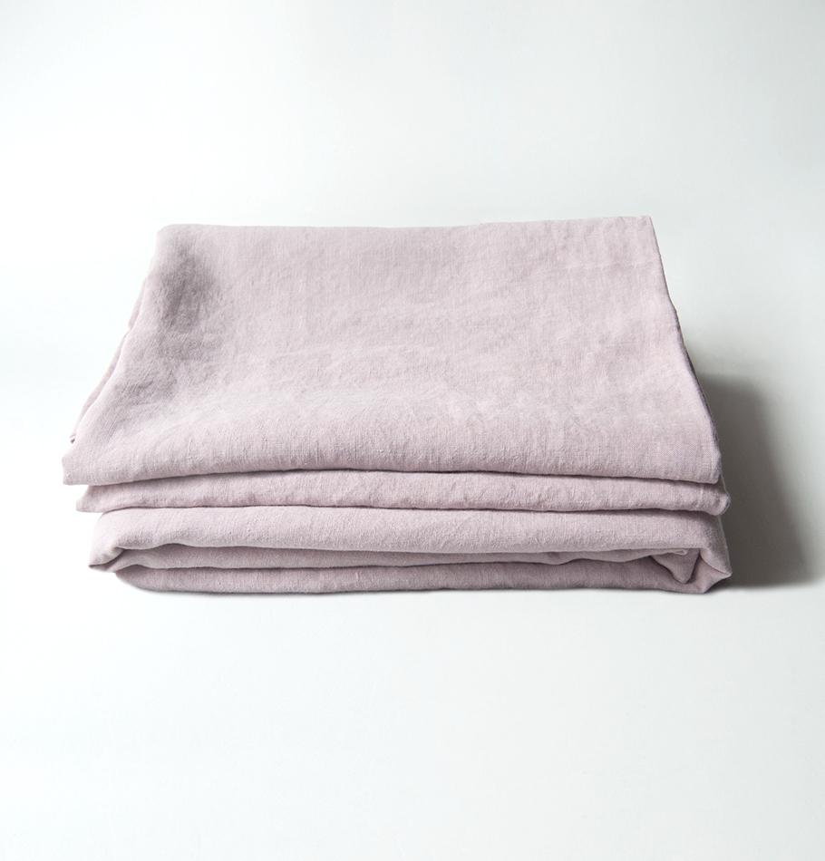 100% Washed Linen Flat Sheet